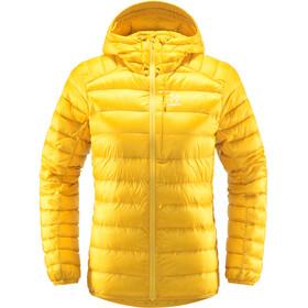 Haglöfs Roc Down Hood Women pumpkin yellow